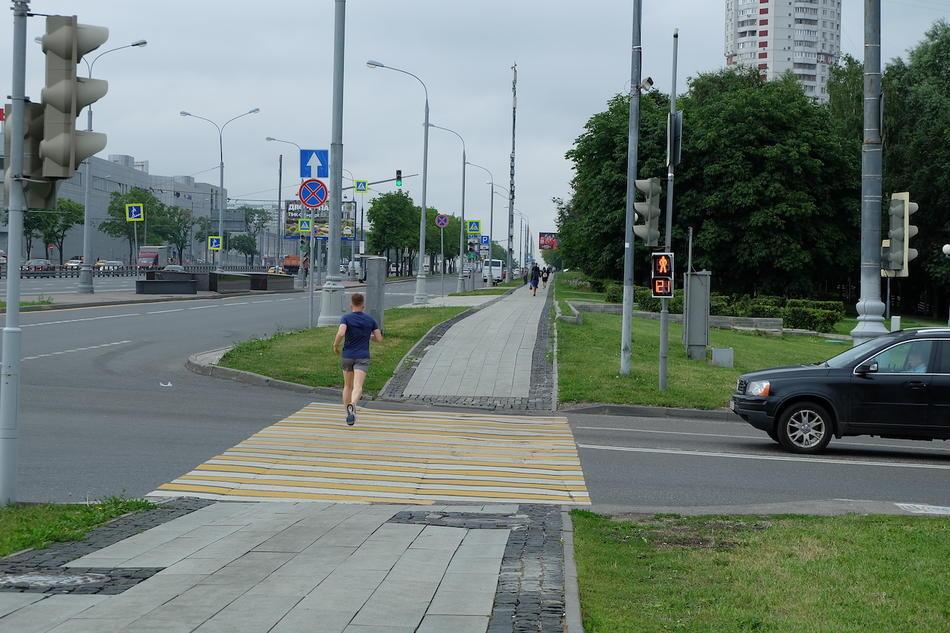 перекресток разъезд фото километры